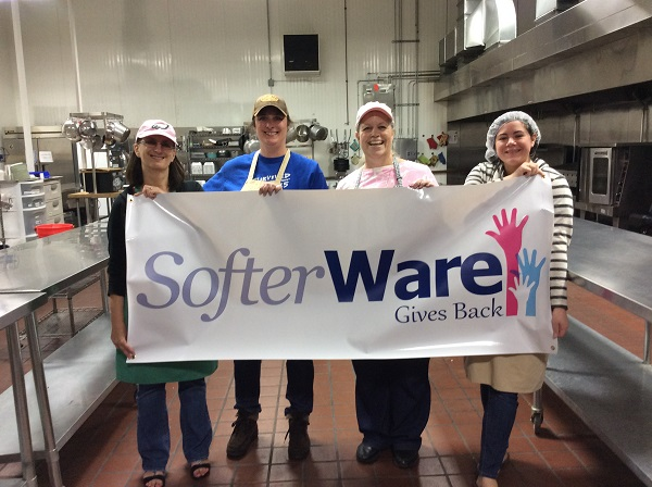 We were happy to once again participate in the Aid for Friends SofterWare Cook Event several weeks ago, on Friday, May 12th.
